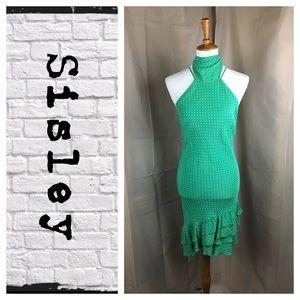 Sisley Italy halter dress